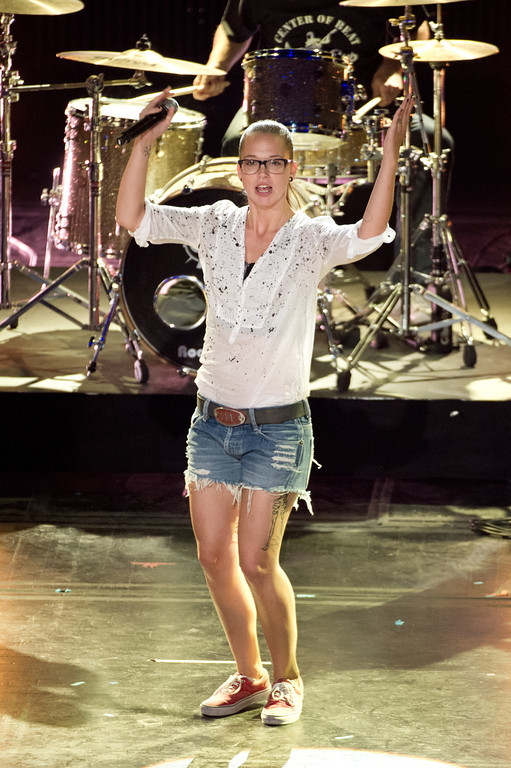 Stefanie Heinzmann, bei THE DOME 63 am 29.08.12 in Ludwigsburg im Forum Theater