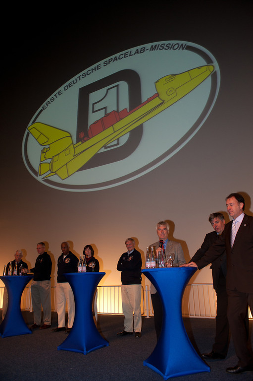 PK mit Spacelab D-1 Crew am 30.10.10 im Technik Museum Speyer
