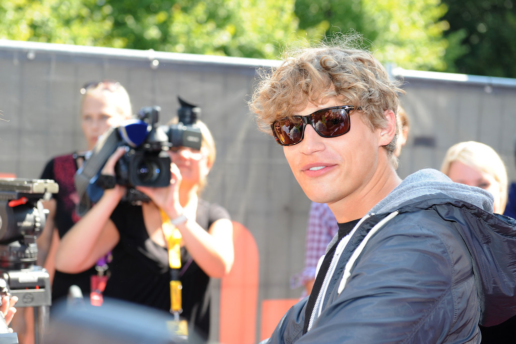 Tim Bendzko, beim The Dome 59 im Forum in Ludwigsburg