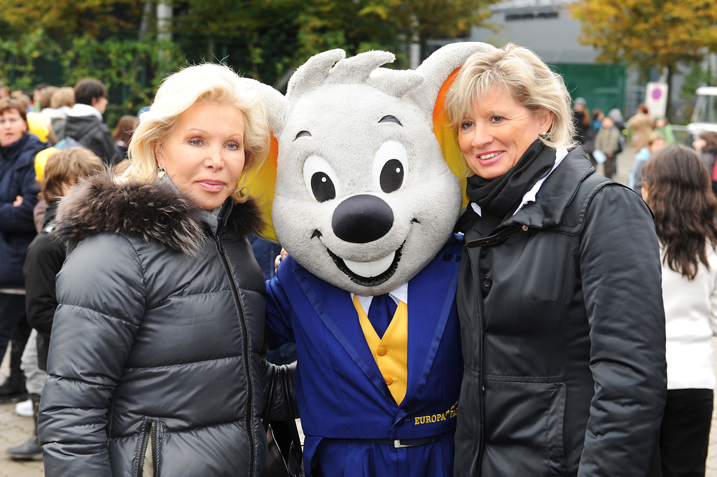 Ute-Henriette Ohoven, beim Projekt One World Family am 20.10.10 im Europa Park in Rust