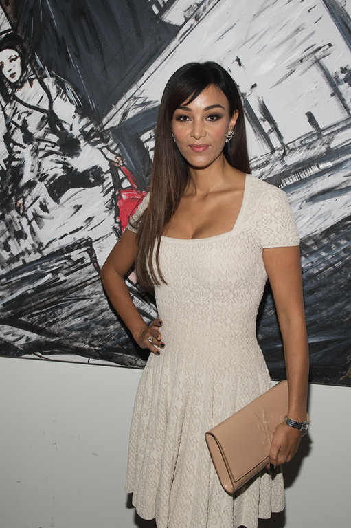 Verona Pooth, bei dem Audi Event Painted Pictures am  28.09.12 in Frankfurt