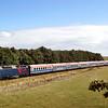 DSB har købt fire IC 3 togsæt af Svenskerne. De har kørt som kustpil mellem Danmark og Sverige.<br /> Her er togsættene på til til Århus for ombygning.<br /> Hylke 31.8.03<br /> <br /> © Foto: Jens Hasse/Chili<br /> Dato: <br /> Chili foto & arkiv