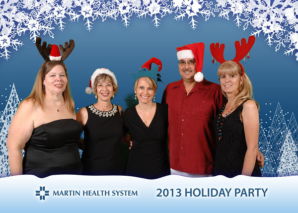 Martin Memorial Hospital Holiday Party 2013
