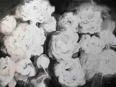 black and white flowers VI jillmartin