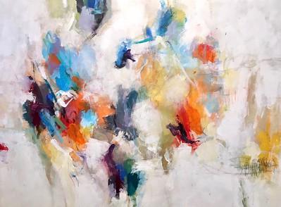 "Hibberd B, 36""x48"" acrylic on canvas"