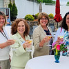 Ladies enjoying a spring fling and a martini