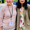 From left, Martha Cohn of Lowell Public School of Lowell with speaker SEGL Impact Spotlight Rachel Sorano of Lowell Project LEARN, Freshman at Lowell High School