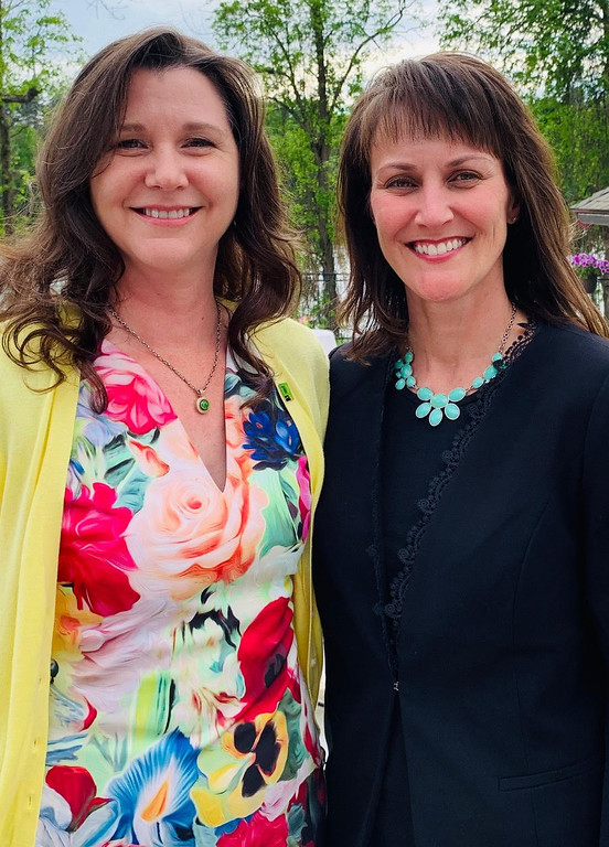 . SEGL Co-chairs, from left, Kari Reinking of Londonderry and Kerry Pucillo of Nashua