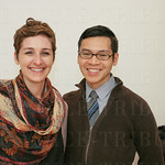 Beth Heustis and Marcus Siu.