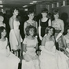 Miss LaPlata Co Elect 1966.  Marvel 2nd from right, sitted.  Winner 1st right sitted.