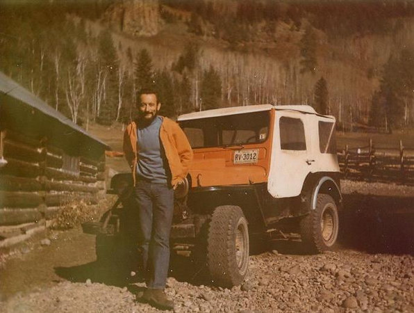EAST FORK: Don, gov survey leader for McCarthy land. Swell guy, loved his jeep, he let me use all the time.  I worked with me one fall.