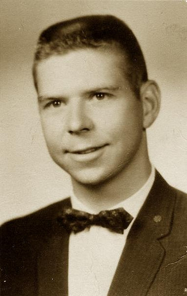 Alan Roger Baldwin.  This is his Masters school photo from Alamosa, Colorado.