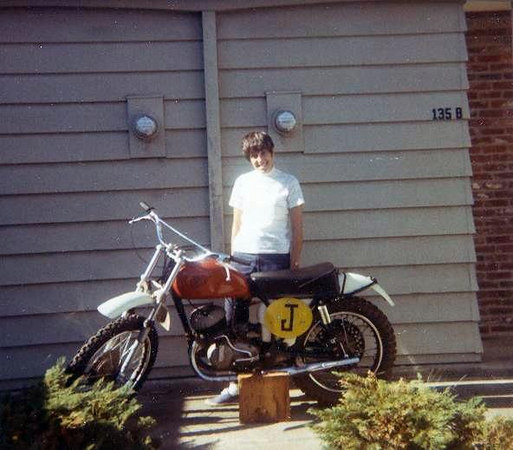 PORTLAND: Rene with her dirt bike.  I was  country pumkin when I first moved in with Rene and Marianne.  Rene taught me how to bank, drive a cycle, and enjoy many off trails of northern Oregon.  They both feed me until I got a job.  Thanks friends.