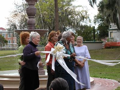 Mary Dillon Fountain Dedication