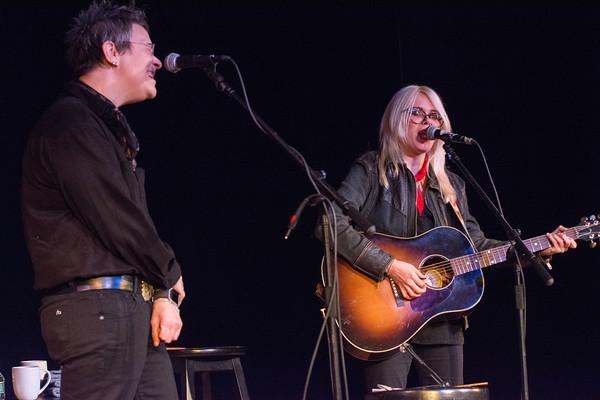 Mary Gauthier and Jaimee Harris