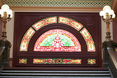 Stained Glass Art in the State Capitol