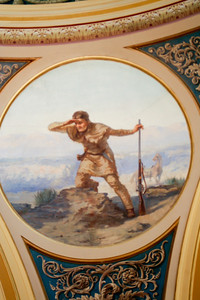 Artwork in the Rotunda.