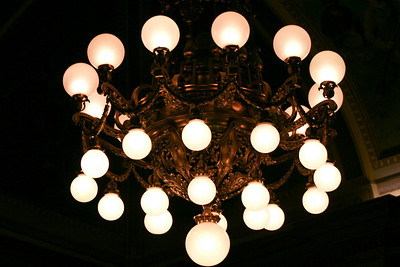 Chandelier in the State Senate