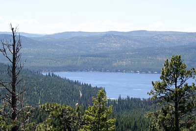 Placid Lake from the Fire Watch Tower