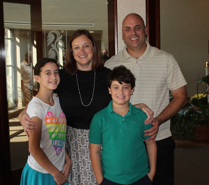 Grace, Cristen, Brendan & John @ Saint Clare of Assisi Catholic Church