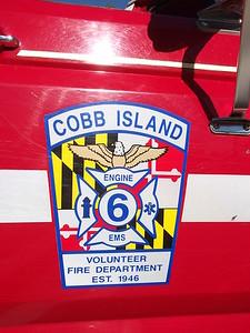 Cobb Island VFD Decal