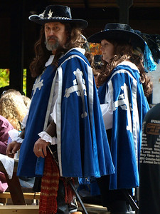 Suspicious Musketeers.
