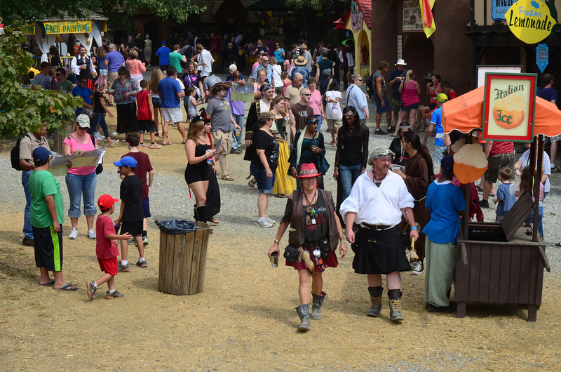 At the Maryland Renaissance Festival, September 8, 2013.