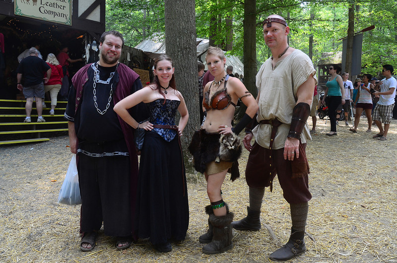 At the Maryland Renaissance Festival, September 8, 2013.