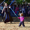 Ribbon runner  Maryland Renaissance Festival, Crownsville, Maryland, October 13, 2012