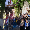 Hilby, the Skinny German Juggling Boy. Yep, that's what he called himself. Funny show.  Maryland Renaissance Festival, Crownsville, Maryland, October 13, 2012