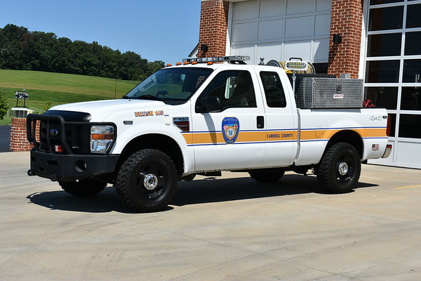 Winfield's Brush 145 is this 2007 Ford F350 4x4/Darley Skid equipped with a 200/200/10.
