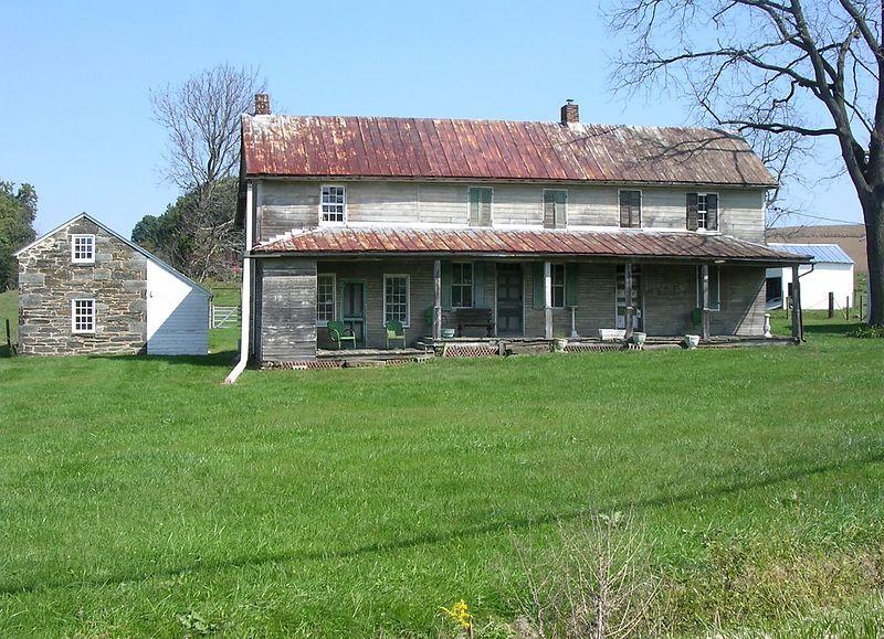 Old farmhouse <br>Marston, MD <br>10-1-04