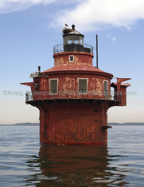 Craighill Channel Lower Front Lighthouse