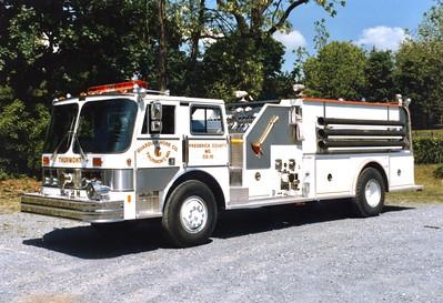 Engine 104 was a 1985 Hahn, 1000/1500.