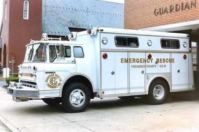 Squad 10 was a 1972 Ford C/Swab.