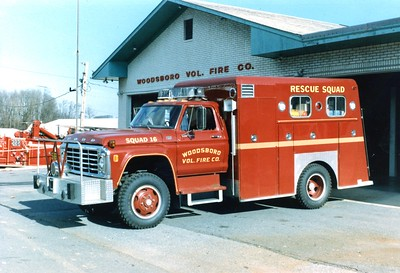 Squad 16 was this 1978 Ford F/Morysville/Antietam.