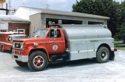 Tanker 9 was a 1976 Chevrolet C65/Heil, 450/1800.  Sold in 1998.