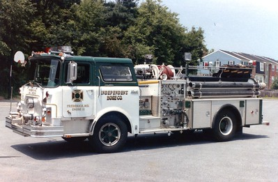 Engine 12 was a 1972 Mack CF/1982 4-Guys, 1000/500.  Donated to Mountain Fire/Rescue, California, in the late 1980's.