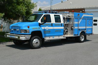 Last in the nice Walkersville blue is Brush 116, a larger 2009 GMC 5500/Pierce, 1000/250, sn- 21933.