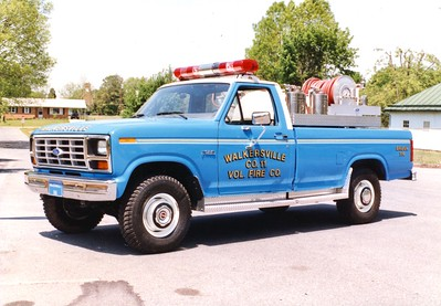 Former Brush 116, a 1984 Ford F-250, 350/200.