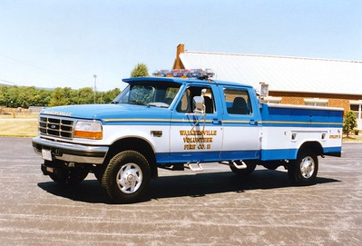 Utility 11, a 1996 Ford F-350/Reading.