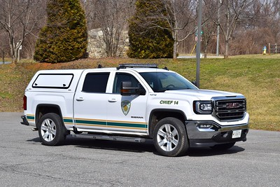 Chief 14 from Carroll Manor - a 2018 GMC Sierra.