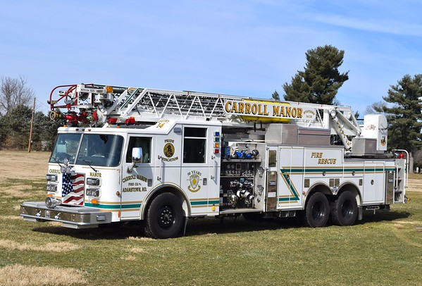 Quint 14 is a 2003 Pierce Dash, 1500/500, 105', sn- 14270.  This is the first out suppression unit at FS 14.