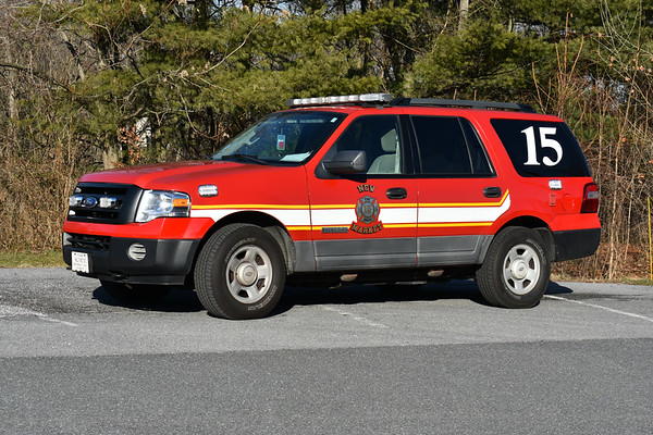 Car 15 at New Market, Maryland is a 2006 Ford Excursion/Odyssey.