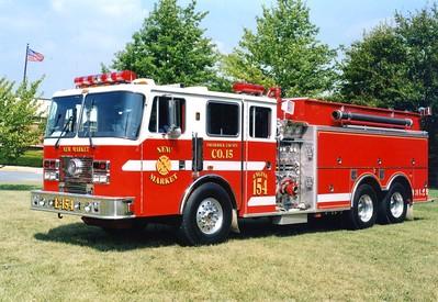 Former Engine-Tanker 154, a nice 1994 KME Renegade 1250/2000.