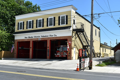 New Market, Maryland Station 15 is in Frederick County.