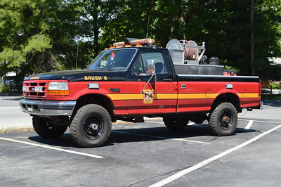 Boonsboro Brush 6 is this 1991 Ford F350 with a 300/200 skid.  It was previously at New Market, Maryland.