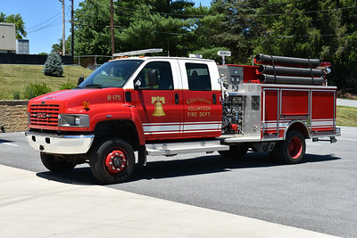 Libertytown, Maryland's Brush 175, a 2009 GMC C5500 4x4/Pierce with a 1000/300.  Pierce job number 21658.