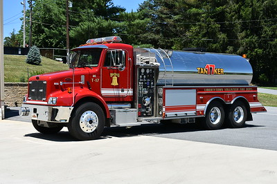 Libertytown, Maryland Tanker 17 - a 2003 Peterbilt 330/US Tanker equipped with a 1000/3000.  US Tanker serial number 86321.