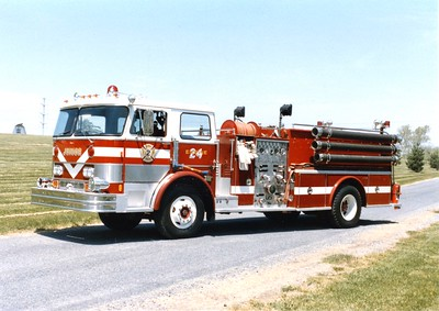 Engine 24 was a 1974 Hahn, 1250/1000.  ex - Hockessin, Delaware.  Sold in 1992.